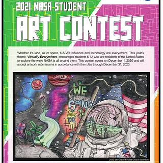 NASA Langley Wants Virtual-Inspired Art for 2021 Student Art Contest