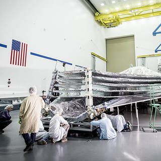 A Mechanical Harmony to NASA's Webb Telescope Sunshield image