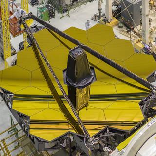 James Webb Space Telescope's Golden Mirror image