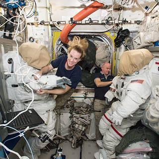 NASA Astronaut Kate Rubins, Crewmates to Discuss Upcoming Spaceflight
