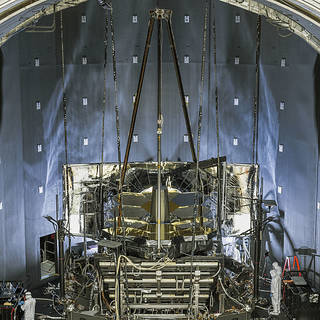 Testing the James Webb Space Telescope Pathfinder image