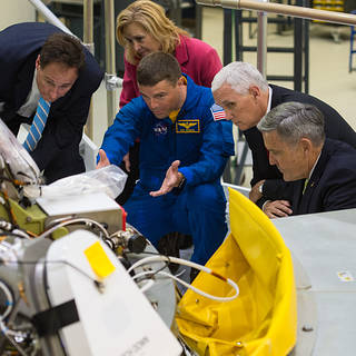 Vice President Pence Visits NASA's Multi-User Spaceport – Kennedy Space Center