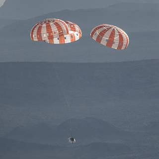 NASA Invites Media to Witness Final Orion Parachute Test in Arizona Desert