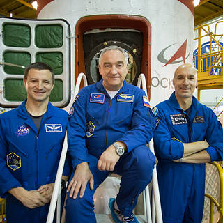 Next Space Station Crew Available for Media Interviews