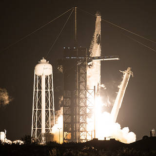 NASA's SpaceX Crew-1 Astronauts Headed to International Space Station
