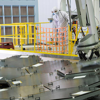 New NASA Time-lapse Shows NASA's Webb Telescope Primary Mirror's Complete Assembly image