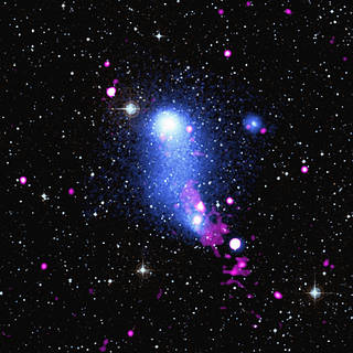 Abell 2384: Bending the Bridge Between Two Galaxy Clusters