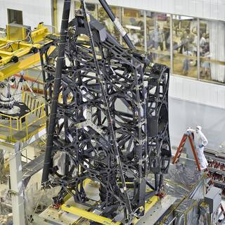 NASA's James Webb Space Telescope Structure Stands Tall image