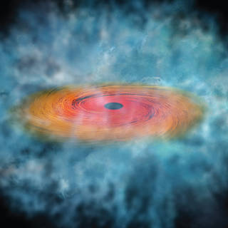 NASA Telescopes Find Clues For How Giant Black Holes Formed So Quickly