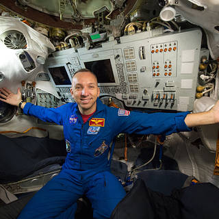 NASA Astronaut Randy Bresnik Available for Interviews Before Space Station Mission