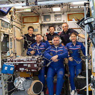 NASA Astronauts Hague, Koch Arrive Safely at Space Station
