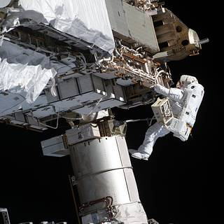 NASA TV to Provide Coverage as Astronauts Venture Out for Spacewalk thumbnail