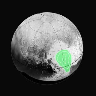 Frossen CO på Pluto