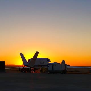 NASA Global Hawk is going through testing of its communication components and satellite connection links.