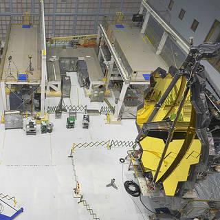 NASA Completes Webb Telescope Center of Curvature Pre-test image