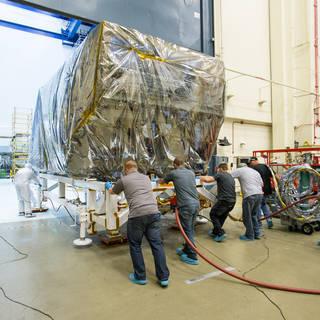 James Webb Space Telescope's ISIM Passes Severe-Sound Test image