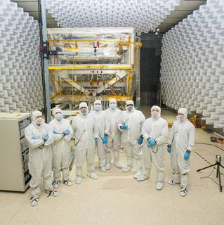 Testing the James Webb Space Telescope with Radio Waves image