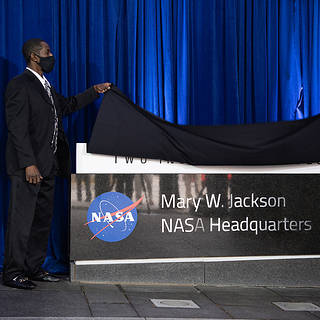 NASA Celebrates 'Hidden Figure' Mary W. Jackson With Building Naming Ceremony