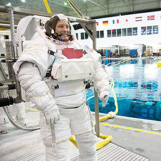 NASA Astronaut Available for Interviews Before Space Station Mission
