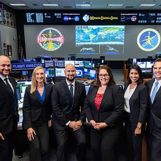 NASA Names Six New Flight Directors to Lead Mission Control