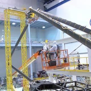 NASA's Webb 'Strutting its Stuff' in New 'Behind the Webb' Video image