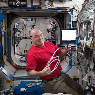 NASA Astronauts on Space Station to Speak with Students from Florida, Texas