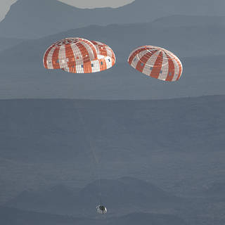 NASA to Broadcast Final Parachute Test for Orion Spacecraft