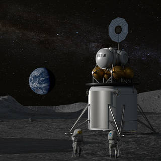 NASA Administrator Hosts Media, Industry Forum on Lunar Exploration Plans
