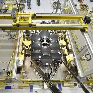 James Webb Space Telescope Mirror Halfway Complete image