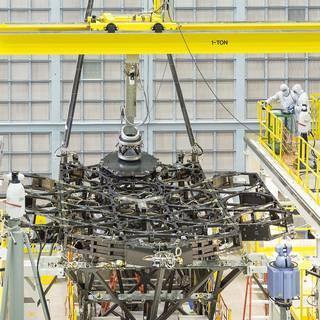 NASA?s Webb Space Telescope Receives First Mirror Installation
