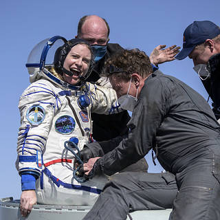 NASA Astronaut Kate Rubins, Crewmates Return Safely to Earth