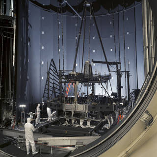 """NASA's Webb """"Pathfinder Telescope"""" Successfully Completes Second Super-Cold Optical Test image"""