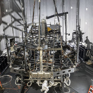"""NASA's Webb """"Pathfinder Telescope"""" Successfully Completes First Super-Cold Optical Test image"""