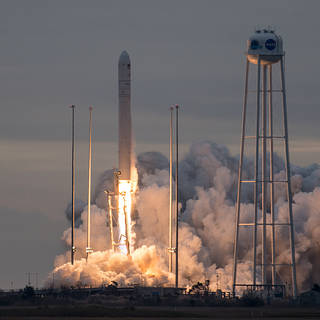 NASA Space Station Cargo Launches Aboard Orbital ATK Mission