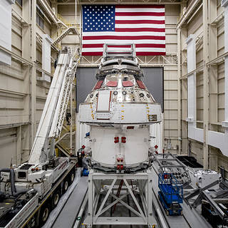 NASA Invites Media to View Orion Spacecraft for Artemis I Lunar Mission