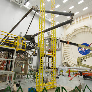 NASA Prepares Webb Telescope Pathfinder for Famous Chamber A image