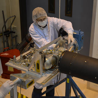 How Cold Can You Go? Cooler Tested for NASA Telescope image