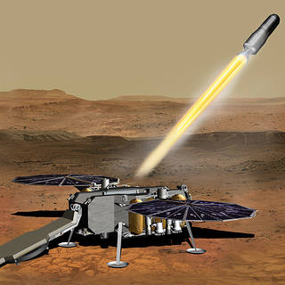 NASA Awards Mars Ascent Propulsion System Contract for Sample Return