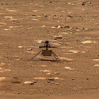 NASA's Mars Helicopter to Make First Flight Attempt Sunday