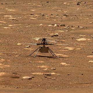 El helicóptero de Marte de la NASA intentará realizar su primer vuelo el domingo