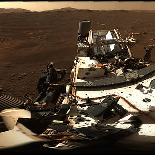 NASA's Perseverance Rover Gives High-Definition Panoramic View of Land