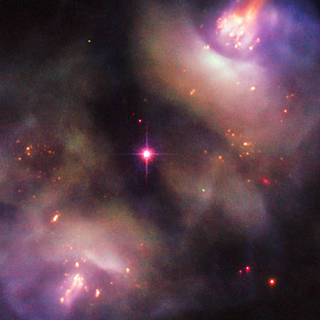 Hubble image of NGC 2371/2