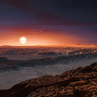 ESO Discovers Earth-Size Planet in Habitable Zone of Nearest Star image