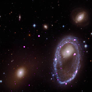 Cosmic Collision Forges Galactic One Ring—in X-rays