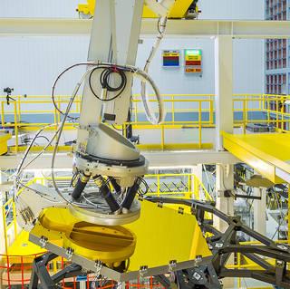 NASA Webb Telescope Mirrors Installed with Robotic Arm Precision image