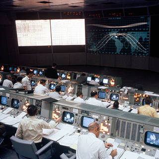 NASA Invites Media to Opening of Newly-Restored Apollo Mission Control
