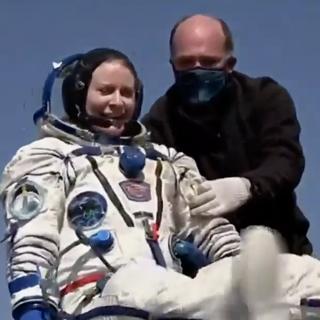 NASA Astronaut Kate Rubins Crewmates Return Safely to Earth