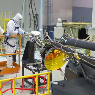 NASA's James Webb Space Telescope Secondary Mirror Installed image