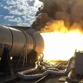 NASA's Space Launch System Booster Passes Major Milestone on Journey to Mars