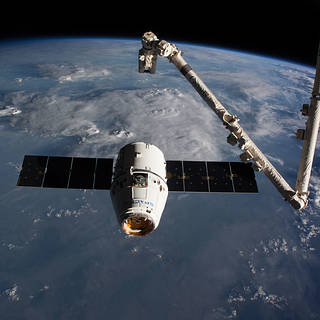 NASA TV to Air Departure of U.S. Cargo Ship from International Space Station